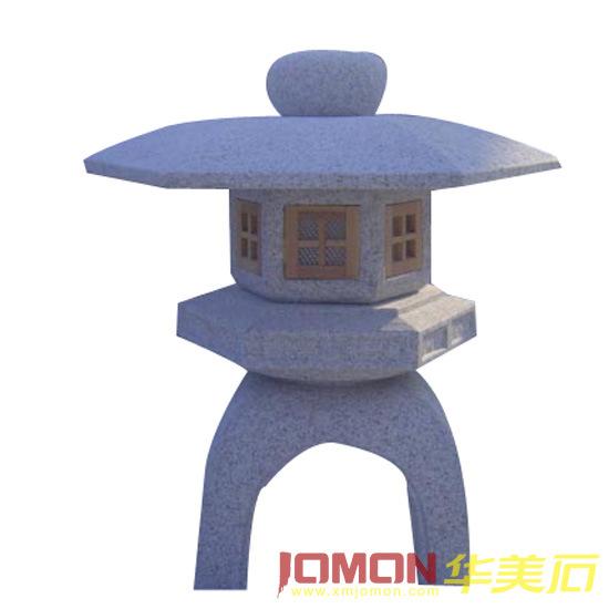 Lampe japonaise en pierre de jardin de granit xmj gl07 for Lampe japonaise exterieur