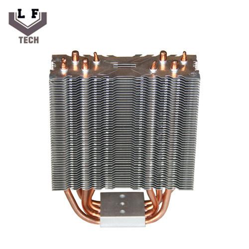 Dissipatore di calore chiaro di alluminio del tubo led del for Miglior isolamento del tubo di rame