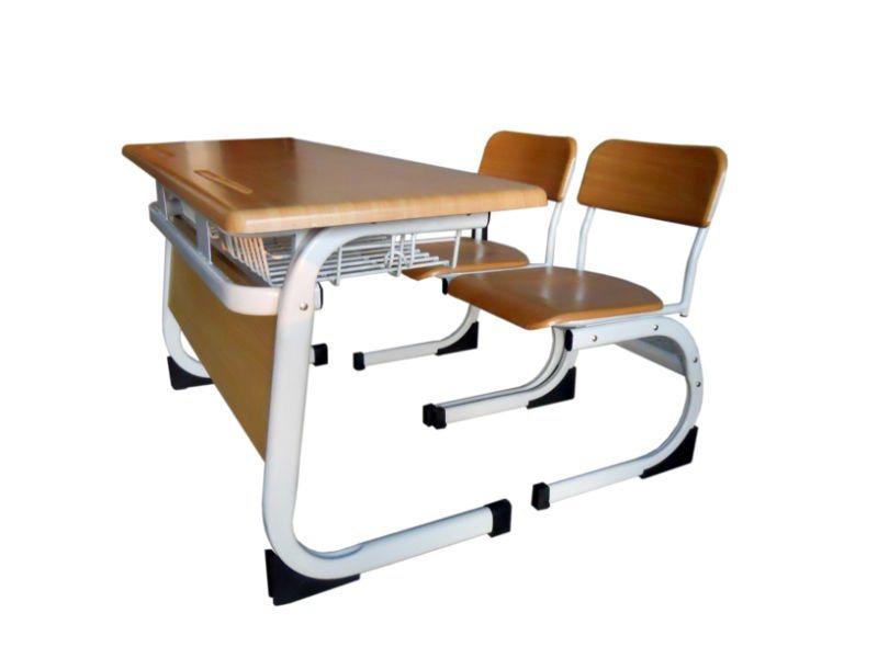 asiento doble del escritorio de la escuela asiento doble