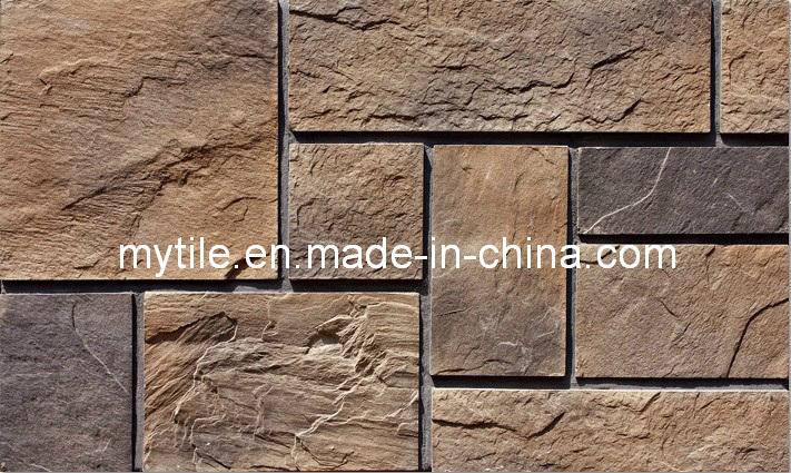 Revestimiento de piedra de los paneles de pared de piedra - Piedra decorativa para paredes ...