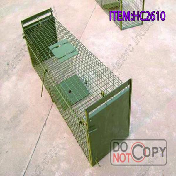 De levende kooi van uitstekende kwaliteit hc2613s1 van de val van de vos de levende kooi van - Kooi trap ...
