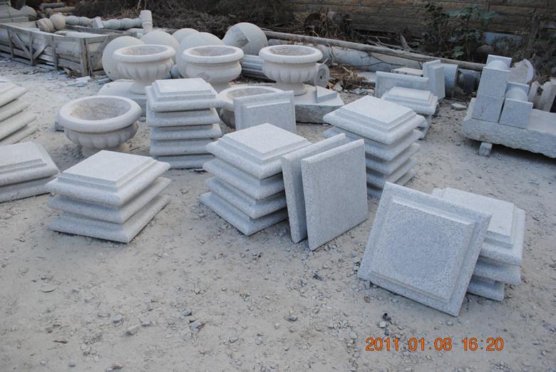 chapeau de pilier de granit et pilier de porte pour le fl au et le pilier chapeau de pilier de. Black Bedroom Furniture Sets. Home Design Ideas