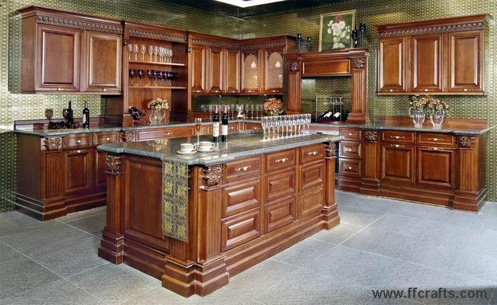 Modelo de gabinetes en madera imagui for Gabinetes de cocina
