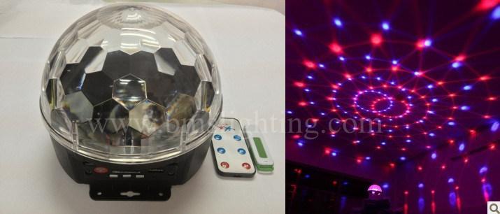 boule magique bon march de mp3 led lumi re boule en cristal partie lumi re d 39 effet boule. Black Bedroom Furniture Sets. Home Design Ideas