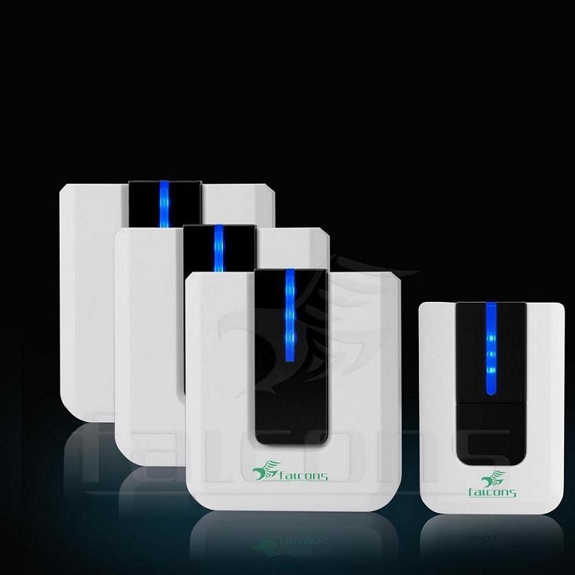 Sonnette sans fil lumineuse doorphone fls db pi sonnette sans fil lumineus - Installation sonnette sans fil ...