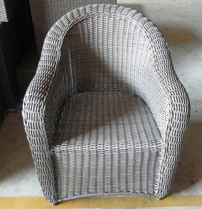 Het openlucht grijs van de stoel van het meubilair van de rotan van de tuin klassieke p rs - Meubilair van binnenkomst grijs ...