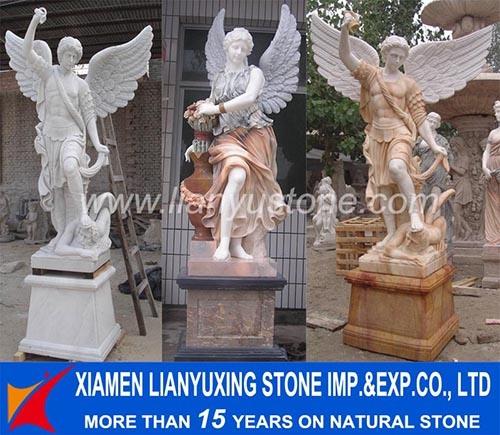 Jard n de piedra de m rmol la figura estatua talla Estatuas decoracion