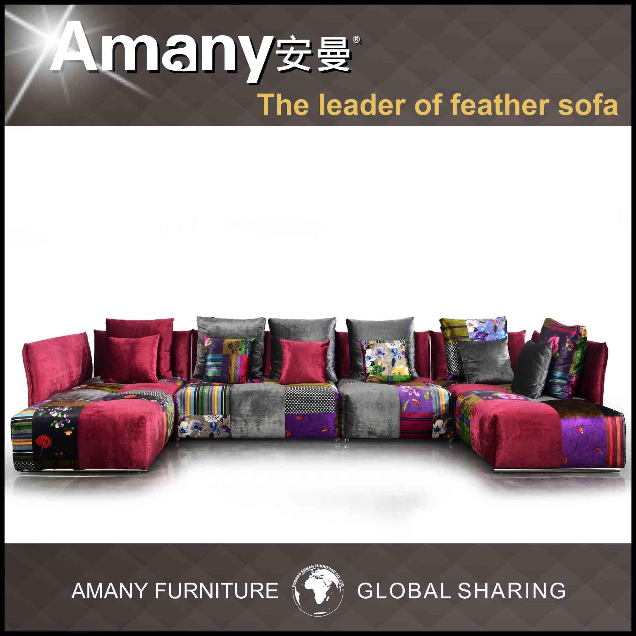 2013 de nieuwe bank van de stof van het ontwerp kleurrijke a9912 2013 de nieuwe bank van de - Sofa van de hoek uitstekende ...