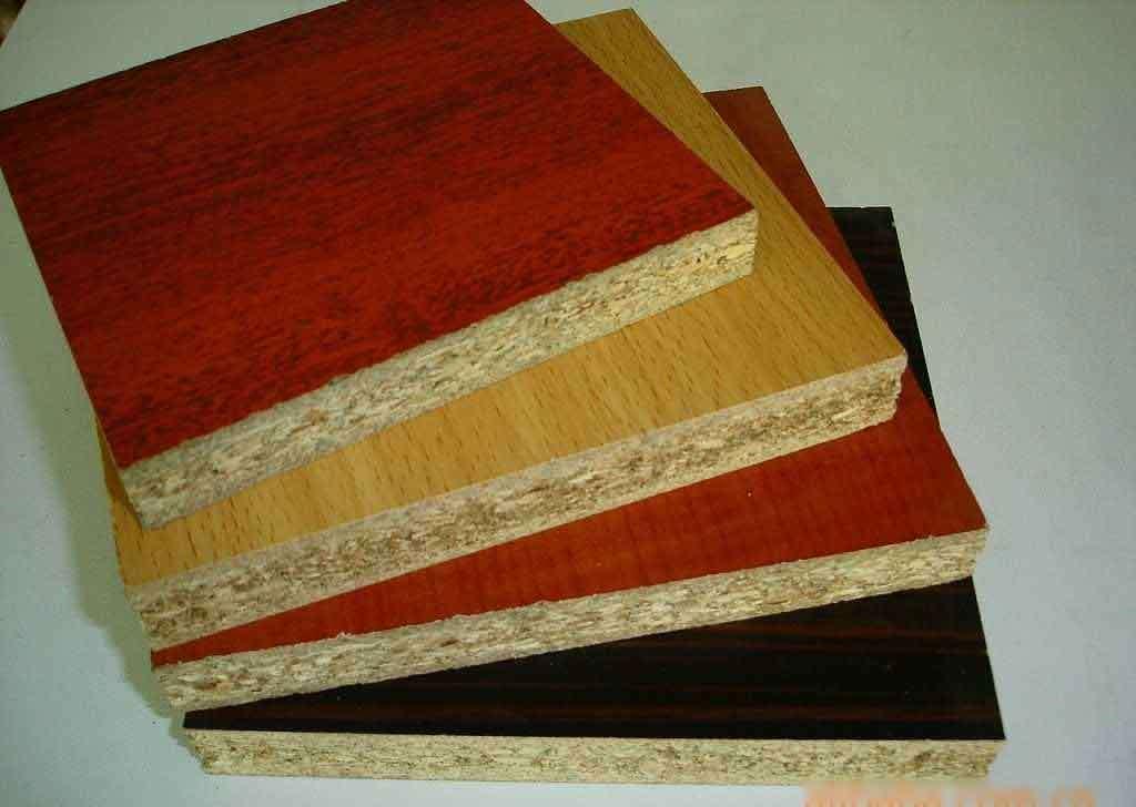 Tablero de madera aglomerada conglomerado de la melamina for Madera de melamina