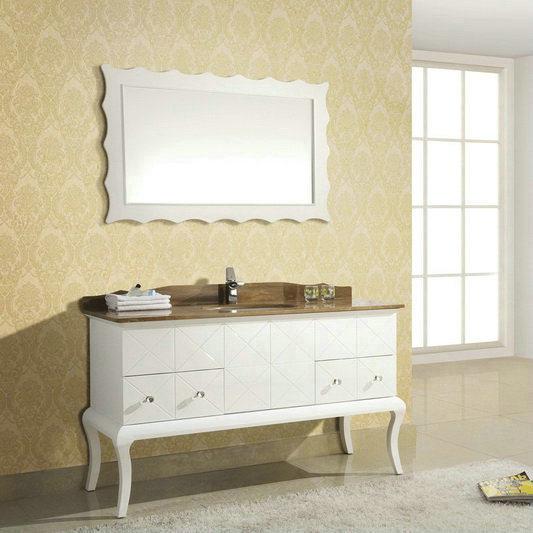 Muebles de madera s lidos elegantes del cuarto de ba o - Muebles de tailandia ...