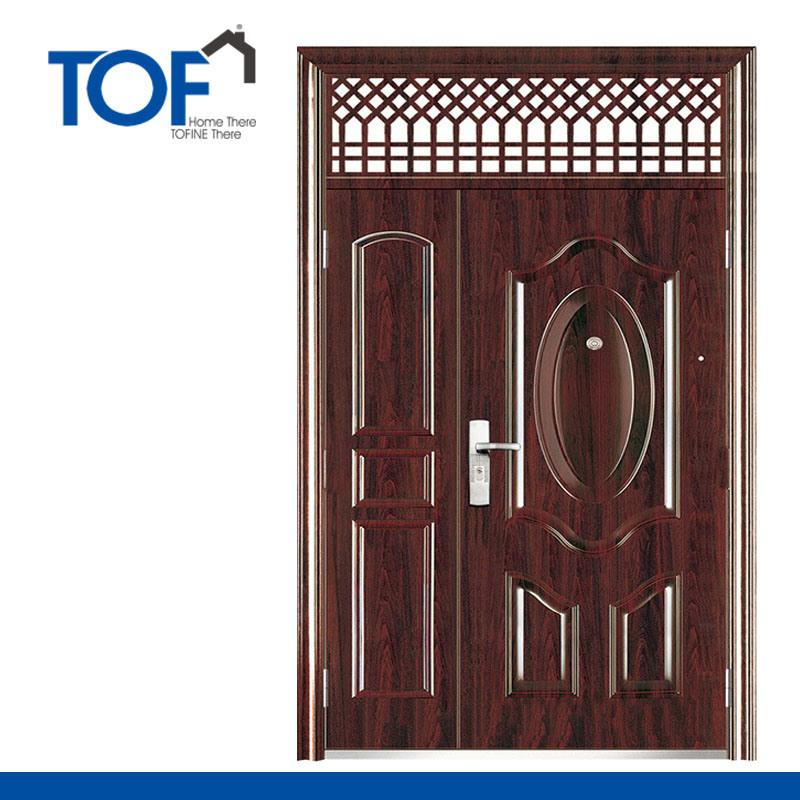 металлические двери для дома стил