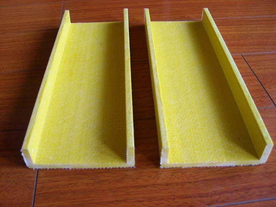 Canal u de alta resistencia de la fibra de vidrio de la - Barras de fibra de vidrio ...