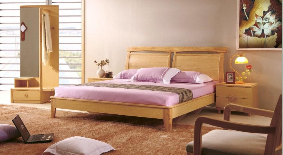 Ensemble de chambre coucher la maison de meubles for Commande chambre a coucher