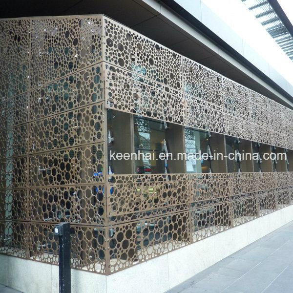 Foto de paneles decorativos perforado exterior corrugado - Paneles decorativos exterior ...
