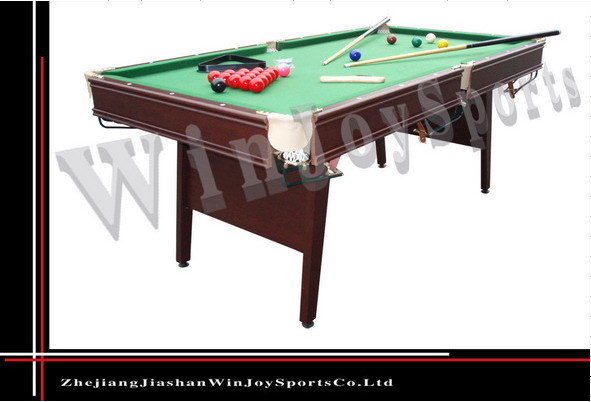 Wj p 032 6ft snooker table wj p 032 6ft snooker tabledoorzhejiang jiashan w - Taille table snooker ...