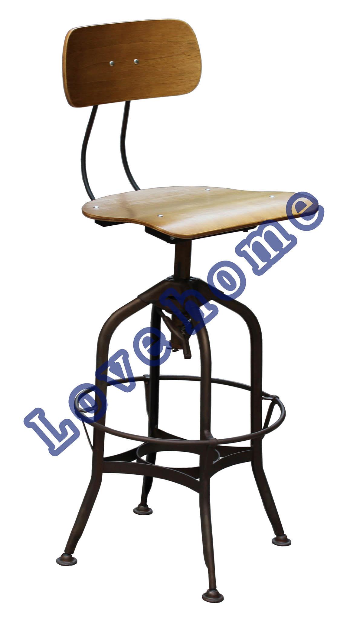M tal industriel dinant les chaises en acier de barre de toledo photo sur fr - Chaise en metal industriel ...