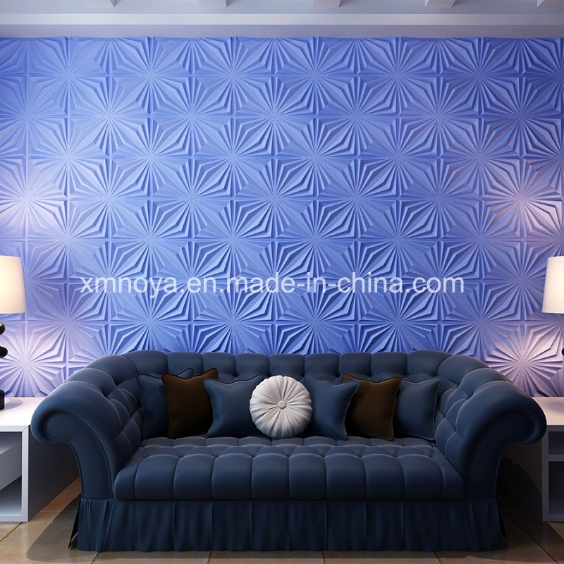 panneau de mur acoustique de pvc de l 39 isolation saine 3d pour d coratif int rieur photo sur fr. Black Bedroom Furniture Sets. Home Design Ideas