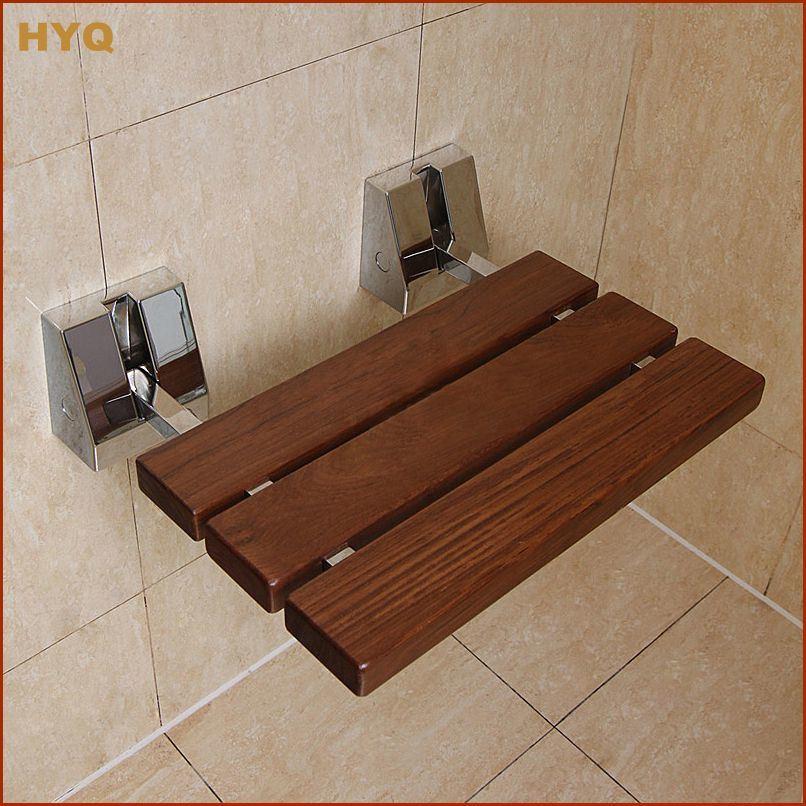 Le tabouret en bois de salle de bains de teck de d forme de le mei shi de port e mat rielle de - Tabouret salle de bain bois ...