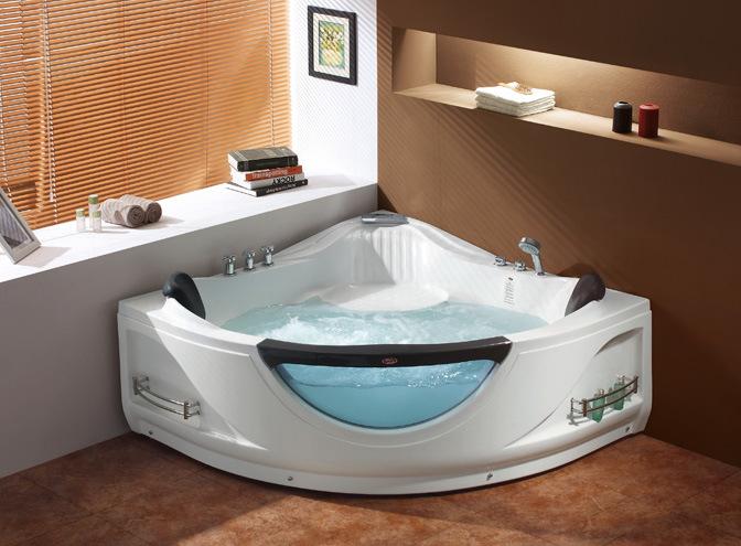 De zuivere acryldraaikolk jacuzzi badkuip van de massage fl 6017 de zuivere acryldraaikolk - Douchekamer model ...