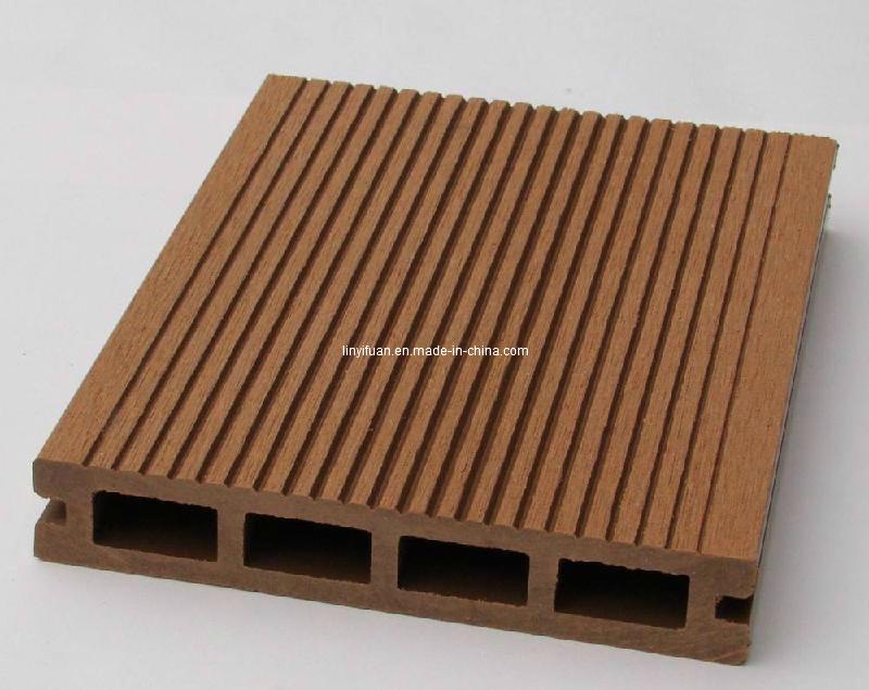 aplicacao deck jardim:Placa de revestimento plástica de madeira de WPC/ –Placa de