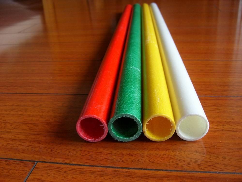 Tubo colorido dur vel uv elevado da fibra de vidro de - Tubos fibra de vidrio ...