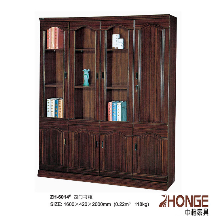 Muebles de oficinas estante para libros gabinete de madera for Muebles la oficina