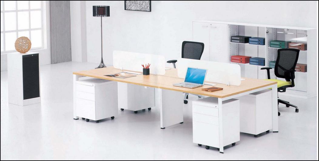 Muebles de oficinas de la pierna de acero blanca tl b78d for Muebles de oficina quality