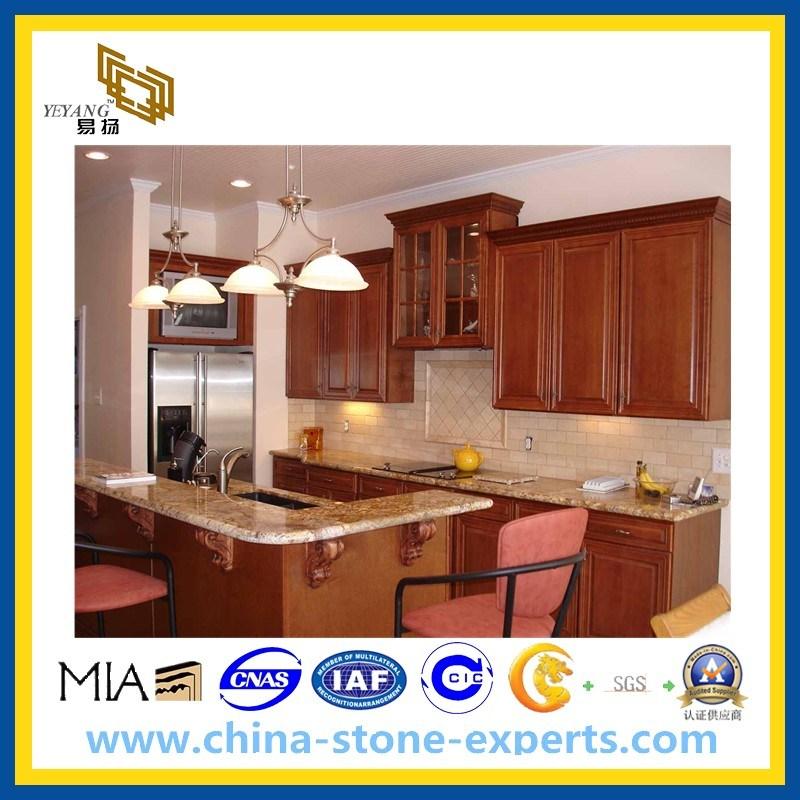 Mueble de cocina de granito laminado encimera mesa - Mueble mesa cocina ...
