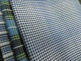100% Cotton Yarn Dyed Check Poplin for Shirts-Lz6756