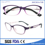 Children′s Flexible Plastic Full-Rim Tr90 Eyeglasses Frame for Girl Toddler