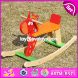 New Design Funny Rocking Horse Toddlers Wooden Ride on Toys W16D109