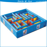 Blue Color Inflatable Castle Maze for Both Kids and Adult