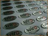 [Promotion PU Clear Epoxy Sticker & Label (HX-DS-12)