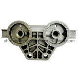 Machined Aluminum Alloy Part for Filter Base (ADC-03)