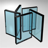6+12A+6mm Flat Clear Insulated Glass for Building
