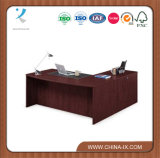 Solutions Bowfront Executive L-Desk with Left Return