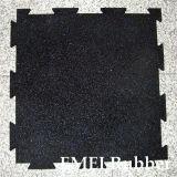 Exercise Room Rubber Flooring Fitness Gym Mat (Interlocking rubber mat)