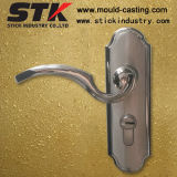 Zinc Alloy Door Handle with Plating (Z1033)
