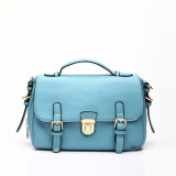 Sky Blue Lady High Quality Messenger Bag (MBNO037096)