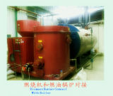 Vertical Sawdust Biomass Burner for Oil Boiler