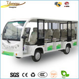 7.5kw Electric Sightseeing Bus 14 Seats Tour Passenger Car Scenic Spot Vehicle