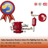 Automation fire system wet alarm valve