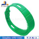 Universal Silk Screen Silicone Smart RFID Wristband for Bathing Beach