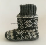 Winter Kids Cashmere Indoor Boots with Knitted
