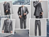 2 Buttons 2011 Men's Business Dress Suit (LJ-1042)