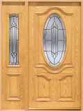 Exterior Wooden Door (KMG02) (Solid Wooden Doors)