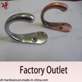 Zinc Alloy Beautiful Design Double Clothes Hanger Cat Hooks (ZH-2025)