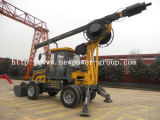 Multifunction Mini Wheel Self Weight Rotary Drilling Rig (NPWS 15)