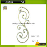 Ornamental Wrought Iron Scroll for Wrought Iron Railing and Iron Gate