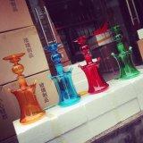 2015 Popular Colorful Glass Hookah, 50cm Glass Hookah